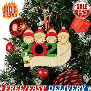 2020 Xmas Christmas Hanging Wood Ornaments Family Ornament Personalized Decor