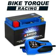 Honda Fl 350r Odyssey 1985-1987 Shido Lithium Battery And Charger