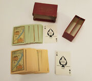 Extremely Rare Twin Pack Of Canada Steamship Lines Playing Cards
