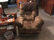 Pair Of Brown Recliners With Electrical Remote