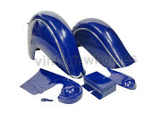 Mudguard Fender Set For Indian Chief Post War Model Lapis Blue Painted