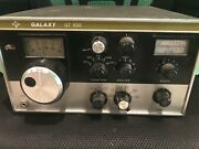 Galaxy Gt-550 Vintage Ham Radio Tube Transceiver Used Untested For Parts