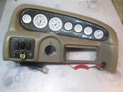 2002 Glastron Sx 175 Boat Dash Panel Instrument Cluster Gauges Switches