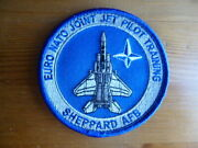 Usaf Euro Nato F-15c Patch Enjjpt Graduate Joint Jet Pilot Training Sheppard Afb