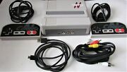 Old Skool Classiq N Video Game System Console For Nes - Gray 2 Controllers