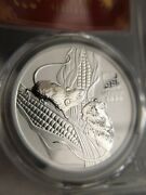 2020 Australia Lunar Year Of The Mouse 1 Oz Silver Coin Pcsg Ms70 Fs Red Label