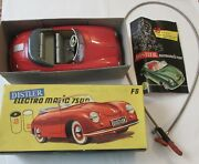 1950s Distler Electromatic 7500 Fs Red Porche Key Box Battery Operated Instruct