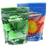 General Hydroponics Maxibloom And Maxigro Dry Nutrients 2.2lb Bags Of Each