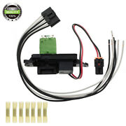 A/c Blower Motor Resistor W/ Wire Harness For Chevrolet 02-07 Suburban 973-405