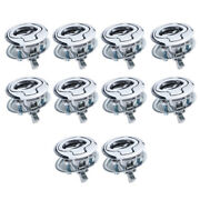 10 Lots Slam Latch Flush Pull For 1/4 Door Boat Deck Hatch Rv Drawers Cabinet