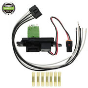 A/c Blower Motor Resistor W/ Wire Harness For Chevrolet 02-07 Suburban 15862656