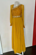 Bebe Maxi Dress Special Occasion Hand Embellished New With Tag
