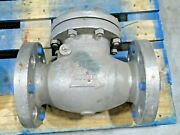 4 Kitz Fig. 300uoam Cl300 Cf8m Stainless Steel Swing Check Valve New