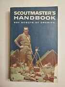 Boy Scout Scoutmasters Handbook 1960 Norman Rockwell Scoutmaster Cover