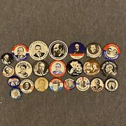 Lot Of 21 Presidential Campaign Button / Pin [reproductions]
