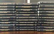 Agathachristiemystery Leather Rare Deluxe Book Collection-set 33 30 Gold Edges