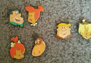 The Flinstones,fred,wilma,barney-head Shot,6/lost Kids Button Cover,h.b.p.i 1994