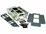 Tbs Competition Blower Manifold Tall Deck Chevy Bb 10.2 With 1 Burst Panel