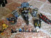 Lego - Batman Batcave M O C -exclusive-extra Figures-features-vehicles-must See