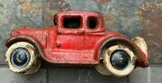 Rare Original 1920's Hubley Arcade All Cast Iron Ford Model T Coupe 4 Inch