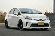 For 01and039.1212and039.15 Prius Zvw30 Late 30 Gzs Style Carbon Front Bumper Lip Bodykits