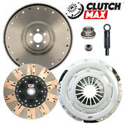 Stage 3 Dual Composite Friction Clutch Kit+hd Flywheel For 81-95 Mustang Gt 5.0l