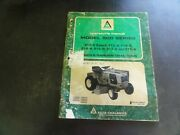 Allis Chalmers 912-6 912-h 914-s 914-h Lawn And Garden Tractors Operator's Manual
