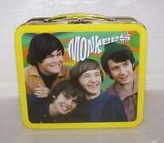 Vintage 1997 Rhino Monkees Lunchbox-all Original With Vhs Video Tape + Puzzle