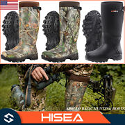 Hisea Menand039s Hunting Boots Neoprene Insulated Muck Working Boots For Rain And Snow