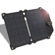 Allpowers Newest 14w Mobile Phone Charger Dual Usb 5v 2.4a Solar Panel Batterie
