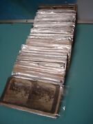 100p Collection Boer War Stereoview Real Photo Stereoscope Cards South Africa Sa