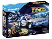 Playmobil Back To The Future Delorean Building Set 70317 New Unopened