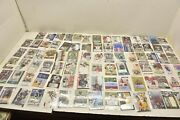 Lot Of 89 Autographed Signed Mixed Nfl Football Cards Various Teams And Players