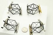 Lionel Pantograph Lot Of 4 Plus 11 Insulators 3 Working 1 Is For Parts Or Repair