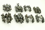 Lot Of 8 O Gauge Truck Assemblies Train Replacement Parts Lionel K-line Others