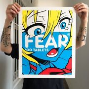 Rare Printer Proof S/n Fear By Ben Frost Of Only 9