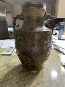 Champleve Vases Made In Japan Brass And Enamel Vases