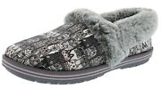 Skechers Womenand039s Bobs Too Cozy- Chic Cat 33347gymt Slippers