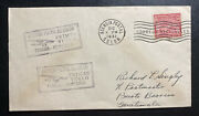 1931 Colon Panama First Flight Airmail Cover Ffc To Puerto Barrios Guatemala