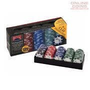 Bicycleandreg Premium 8-gram Clay Poker Chips With Tray