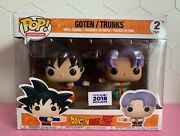 Funko Pop Animation Dragon Ball Z Goten Trunks 2 Pack 2018 Funimation Exclusive.