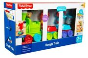 Fisher Price Preschool 2+ Dough Train Play Toy Animal Stampers