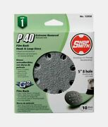 Shopsmith 5 In. Sanding Disc 10 Pc Aluminum Oxide Hook And Loop 40 Grit 12050 New