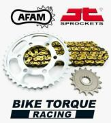 Afam Jt Chain And Sprocket Kit To Fit Ktm 300 Gs 2t Enduro 85-86
