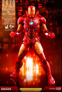 New Hot Toys Mms568 Iron Man 2 Iron Man Mark Iv Holographic Version In Hand