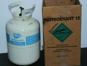 Canister Of R-12 Refrigerant Gross Weight 10 Lbs 7oz Car Quest