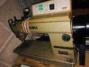 4 Industrial Juki Ddl-5550-6 Leather Sewing Machines And Motors Nice Machine