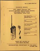 Radio Set An/prc-127 Operators Manual Department Of The Army 15 April 1990