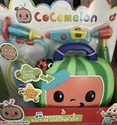 New Cocomelon Musical Doctor Check Up Set Toys Case Roleplay With Sound