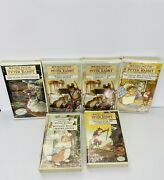 Beatrix Potter Vhs Tapes Peter Rabbit And Friends Collectors Edition Set Of 6